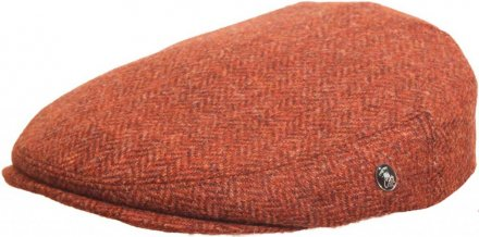 Flat cap - City Sport Caps Lisses (roest)