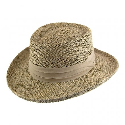 Hoeden - Pebble Beach Gambler Hat (naturel)