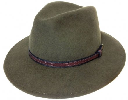 Hoeden - Faustmann Lavello Pinch Crown (khaki)