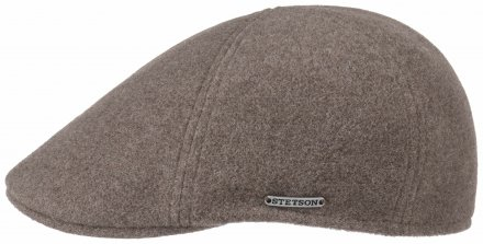 Flat cap - Stetson Texas Wool/Cashmere (taupe)