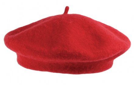 Baret - Wool Fashion Beret (rood)