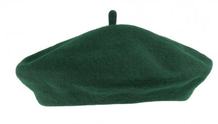 Baret - Wool Fashion Beret (groen)