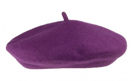 Baret - Wool Fashion Beret (purper)