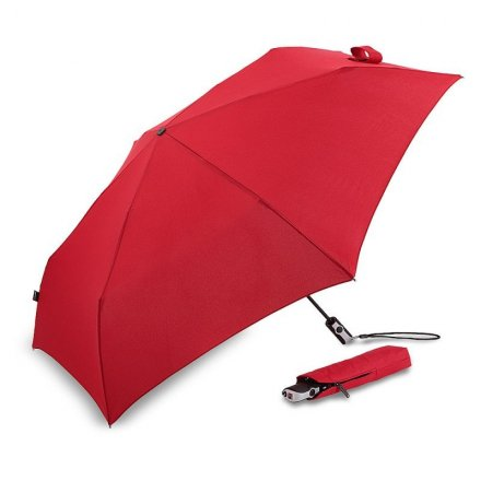 Paraplu - Knirps Flat Duomatic (rood)
