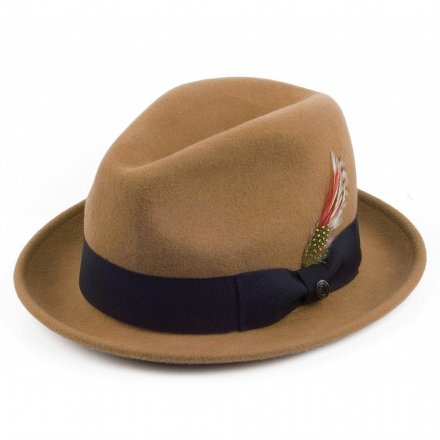 Hoeden - Crushable Blues Trilby (lichtbruin)