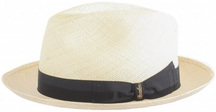 Hoeden - Borsalino Panama Quito Medium Brim (naturel)