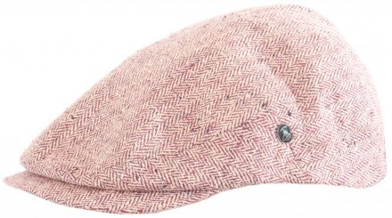 Flat cap - City Sport Caps Autun (rood)