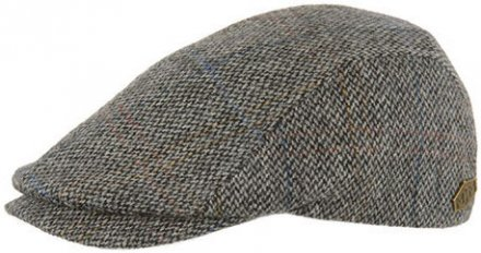 Flat cap - MJM Daffy EL Virgin Wool (grijs)