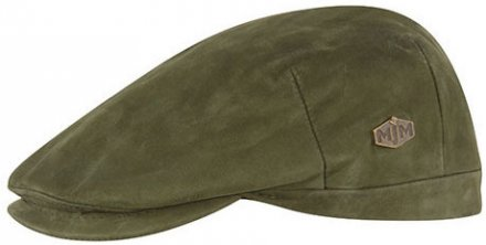 Flat cap - MJM Hunter Leather (groen)