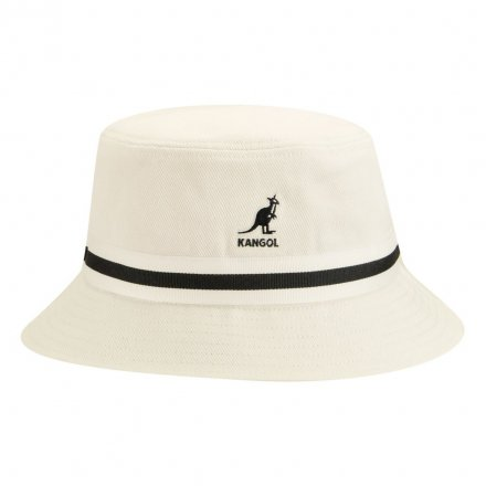 Hoeden - Kangol Stripe Lahinch (wit)