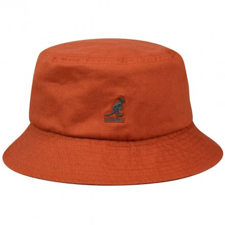 Hoeden - Kangol Washed Bucket (roest)