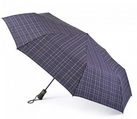 Paraplu - Fulton Open & Close Jumbo-2 (Navy Plaid)