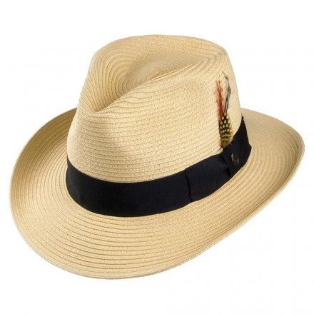 Hoeden - Summer C-Crown Fedora (naturel)