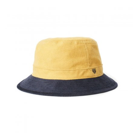 Hoeden - Brixton B-Shield Bucket (Sunset Yellow/Washed Navy)
