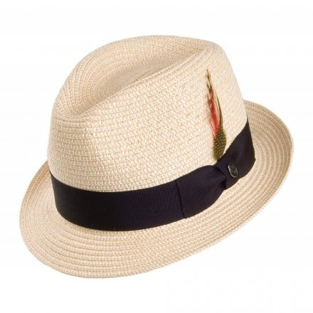 Hoeden - Toyo Braided Trilby (naturel)