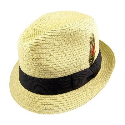 Hoeden - Summer Blues Trilby (naturel)
