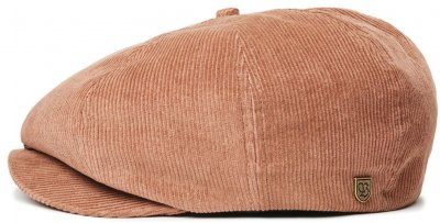 Flat cap - Brixton Brood Cord (bison)