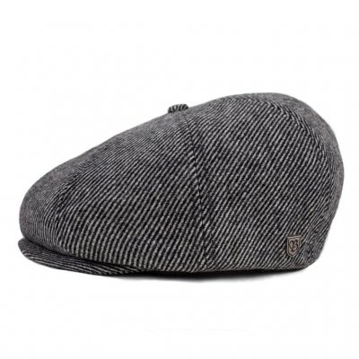 Flat cap - Brixton Brood (black/bone)
