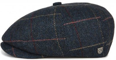 Flat cap - Brixton Brood (navy plaid)