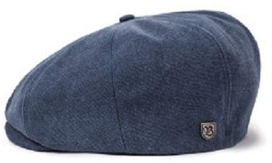 Flat cap - Brixton Brood (washed navy)