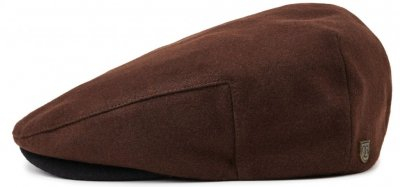 Flat cap - Brixton Hooligan (brown/black)