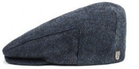 Flat cap - Brixton Hooligan (navy/royal)