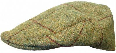 Flat cap - Lawrence and Foster County (groen tweed)