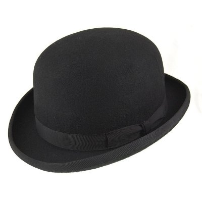 Hoeden - English Bowler Hat (zwart)