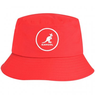 Hoeden - Kangol Cotton Bucket (rood)