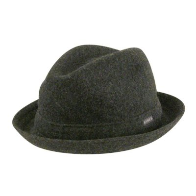 Hoeden - Kangol Wool Player (grijs)