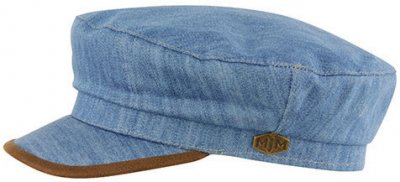 Fiddler cap - MJM Marines Cotton (blauw)