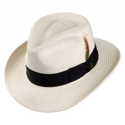 Hoeden - Summer C-Crown Fedora (wit)